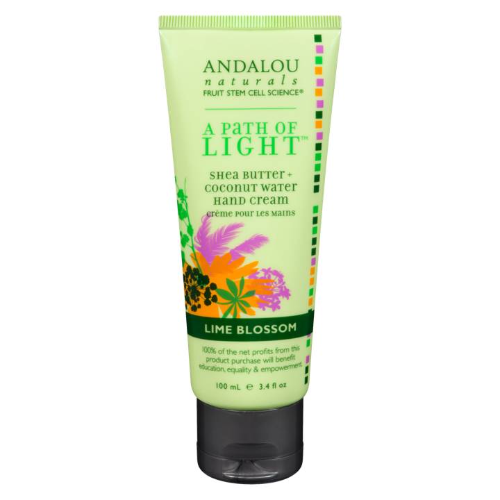 A Path of Light Hand Cream - Lime Blossom - 100 ml